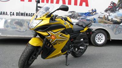 Yamaha FZ6R 2009