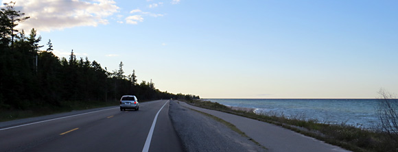 Michigan, Lac Huron – Route US23