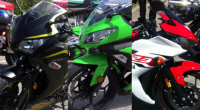 Match comparatif 300 cc