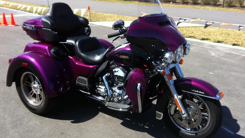 The 2016 Harley Davidson Tri Glide Ultra Provides Three: Harley-Davidson Trike Glide Ultra