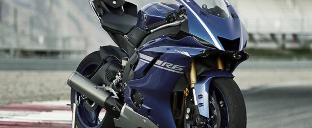Lancement Yamaha R6 2017